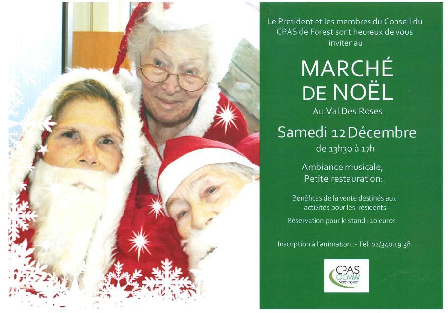 Marché de Noël au Val des Roses