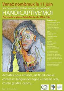« Handicaptive'Moi » : 3e édition de la journée festive autour du handicap ce samedi!