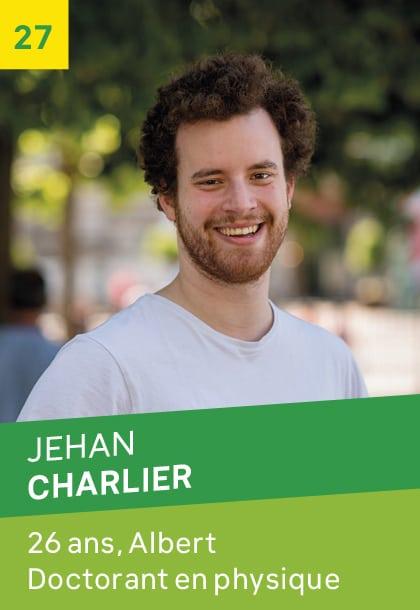 Jehan CHARLIER