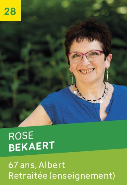 Rose BEKAERT