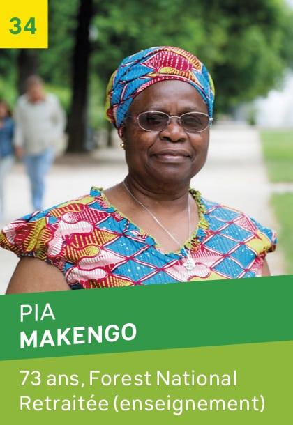 Pia MAKENGO