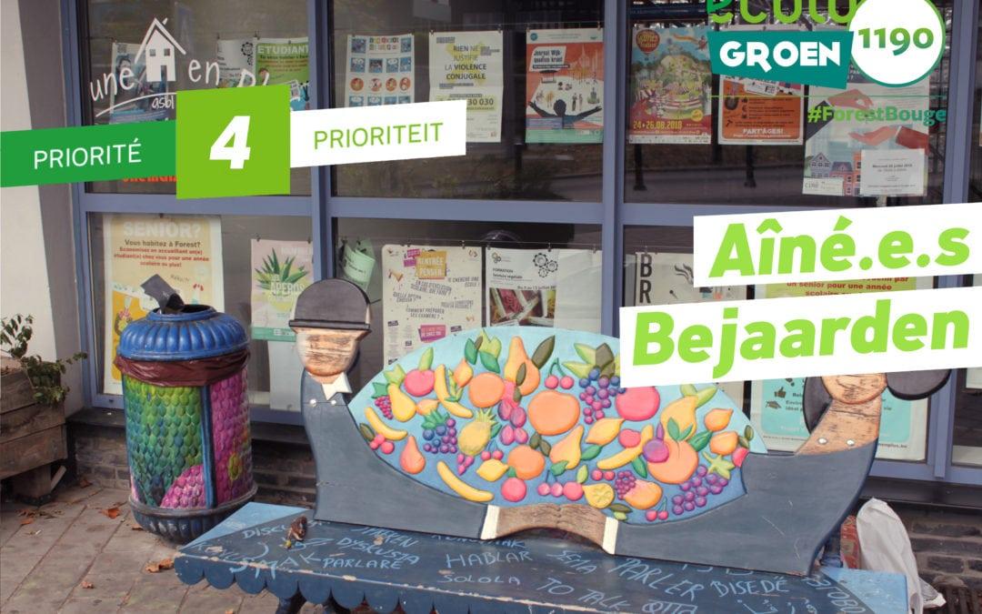 Priorité #4 Aîné•e•s / Bejaarden