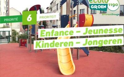 Priorité #6: Enfance – Jeunesse/ Kinderen –Jongeren
