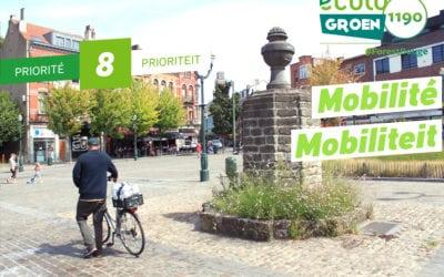 Priorité#8 : Mobilité – Qualité de l'air/ Mobiliteit – Luchtkwaliteit