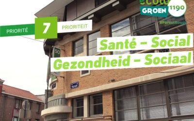 Priorité #7: Social- Santé /Gezonheid – Sociaal