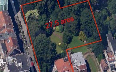 Le jardin de la villa Dewin, un patrimoine à préserver !