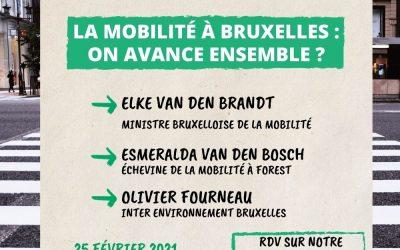 Débat – Mobilité à Bruxelles : on avance ensemble ?